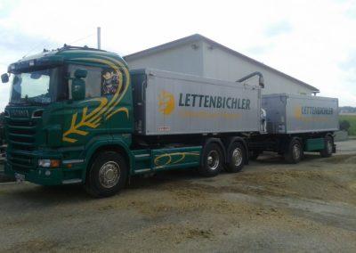 Lettenbichler Lastwagen Anhänger Gespann