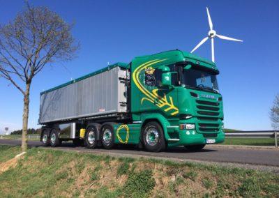 Lettenbichler Lastwagen LKW Windrad Baum