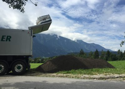 Lettenbichler transport entladen Schüttgut