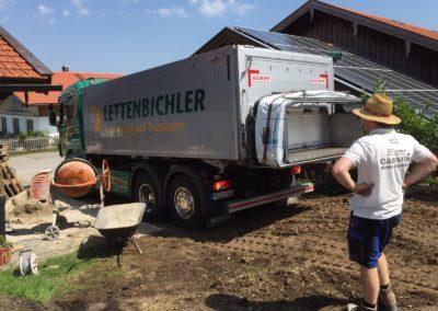 Lettenbichler LKW Baustelle Lastwagen