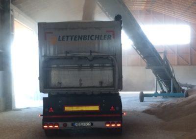 Lettenbichler transport Lastwagen LKW beladen Schüttgut