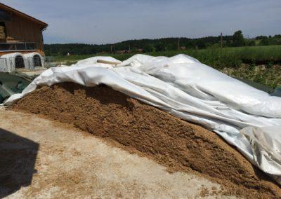 Biertreber Futtermittel Lagerung Kunde Landwirt