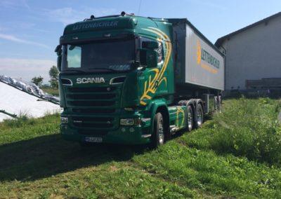 Lettenbichler Futtermittel Transport Lastwagen LKW