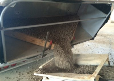 Lettenbichler entladen Schüttgut Pellets Futtermittel