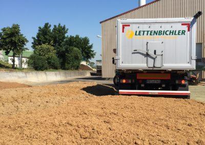 Lettenbichler Lastwagen schüttgut Biertreber