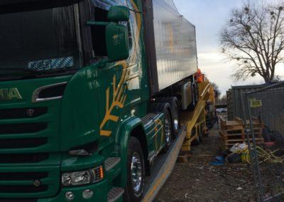 Lettenbichler Lastwagen LKW Laderampe