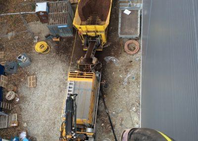 Lastwagen Baustelle LKW