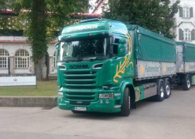 Lettenbichler Lastwagen Futtermittel und transport gespann Museum der Bayrischen Könige