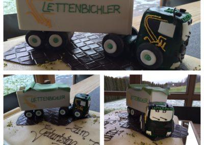 Lettenbichler Torte LKW Lastwagen
