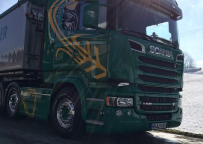 Lettenbichler Futtermittel Lastwagen LKW