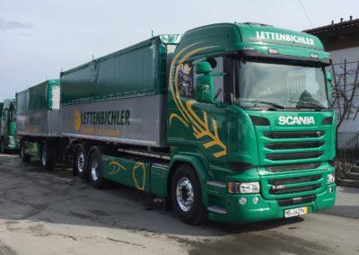 Lettenbichler LKW Lastwagen Gespann Feuchtfuttermittel Biertreber