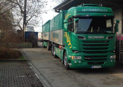 Lettenbichler Lastwagen LKW gespann Feuchtfuttermittel biertreber