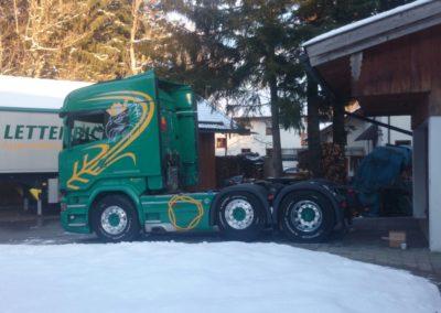Lettenbichler LKW Lastwagen Winter