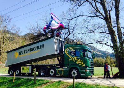 Lettenbichler Lastwagen Hilfe Paraglider