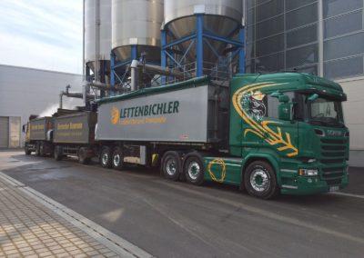 Lettenbichler LKW Lastwagen Futtermittel und Transporte