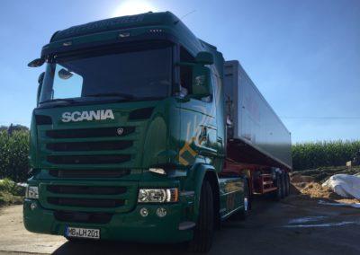 Lettenbichler Lastwagen LKW Feuchtfuttermittel Biertreber