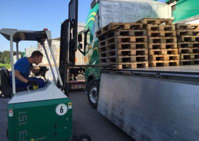 Lettenbichler Lastwagen LKW stapler