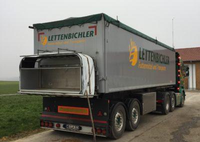 Lettenbichler Lastwagen Futtermittelschlauch