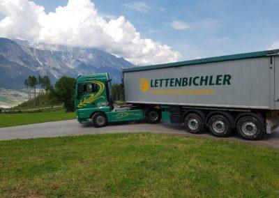 Lettenbichler Futtermittel und Transport Lastwagen LKW