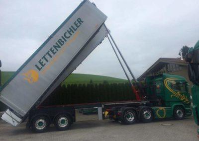 Lettenbichler Lastwagen LKW Ladefläche
