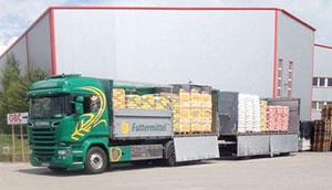 Stückguttransport Lettenbichler Futtermittel und transporte